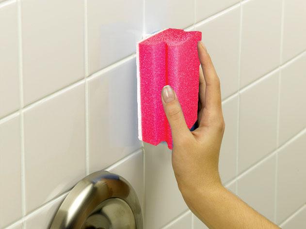 Как  очистить плитку в ванной?